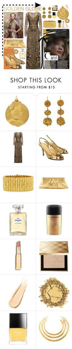 """Goddess of style - Cate Blanchett"" by zree ❤ liked on Polyvore featuring Temperley London, Kate Spade, Robert Coin, Lauren Merkin, Chanel, MAC Cosmetics, Burberry, Hourglass Cosmetics, Butter London and Aurélie Bidermann"