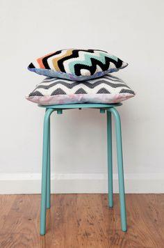 Chevron crochet cushion patterns | Mollie Makes