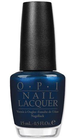OPI's Germany-Inspired Fall Nail Colors! 'Unfor-Greta-bly Blue' A dark midnight navy. Heart Nail Designs, Best Nail Art Designs, Nail Designs Spring, Sns Nails Colors, Nail Polish Colors, Fun Nails, Sexy Nails, Trendy Nail Art, Stylish Nails