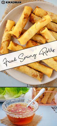 Vietnamese Fried Spring Rolls, Fun Cooking, Cooking Recipes, Pork Spring Rolls, Honey Glazed Chicken, Mets, Air Fryer Recipes, Asian Recipes, Appetizer Recipes