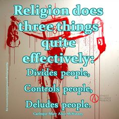 Religion needs to go...KRJ