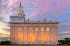 Nauvoo Illinois Temple at Sunset   Fine by LatterDayPhotography on Etsy, $29.99 Niel Hayes