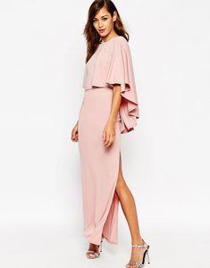 Foto 14 de 14 Vestido largo tipo capa extremo. Precio 59 euros | HISPABODAS