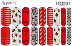 Nc state wolfpack baby!! Nail art studio creation. www.eah.jamberrynails.net
