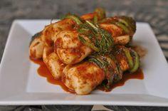 Ponytail kimchi / 총각김치 / Chonggak kimchi by powerplantop, via Flickr