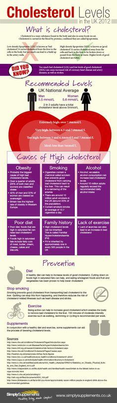 Cholesterol Infographic