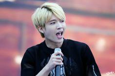 woohyun is blond