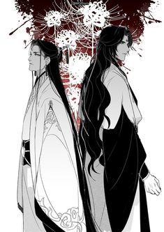 """BingJiu ABO AU got me in tattered sobs the hubby after yrs of marriage still as explosive as ever Bingge will personally dress Xiao Jiu in different clothes and jewelry everyday just to reel ShenJiu up he is maso like that Me Me Me Anime, Anime Guys, Manga Anime, Marriage Stills, Mini Comic, The Grandmaster, Shounen Ai, Light Novel, Manga Games"