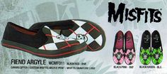 Misfits- Fiend Argyle Slip On by Draven http://www.angryyoungandpoor.com/store/pc/viewPrd.asp?idproduct=63789=427