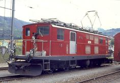 Classic, Vehicles, Photos, Trains, Iron, Locomotive, Rolling Stock, Photo Illustration, Switzerland