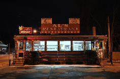 https://flic.kr/p/7A1JT9 | Al's Diner & Restaurant - Chicopee, Massachusetts | January 2010