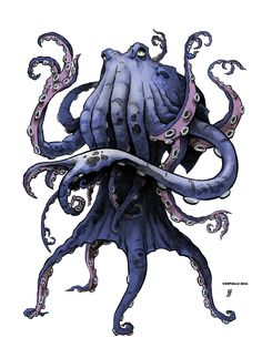 Octo by williamsquid #Tentacles