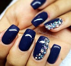 Navy with a bit of sparkle