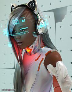 ArtStation - marvel, render goddess