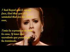 ▶ Adele - Someone Like You (subtitulado ingles/español) - YouTube