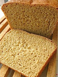 No-Knead Honey Whole Wheat Bread. tried this! mine came out a little crumbly tho. i guessing it's because of the cold yeat from the fridge...urgh. who knows.  gotta try this again...