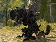 【FF14】魔導アーマーのスクリーンショット! FF6のモデルを忠実に再現