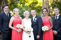 Bridal party at Novotel Twin Waters resort. www.lanicarter.com