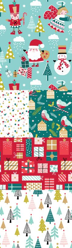 wendy kendall designs – freelance surface pattern designer » let it snow