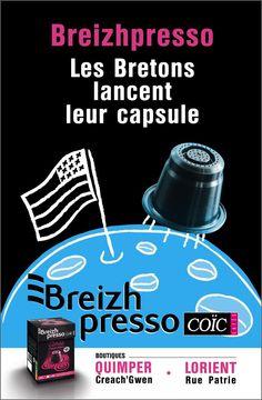 Breizhpresso, les capsules de café par Café Coïc.
