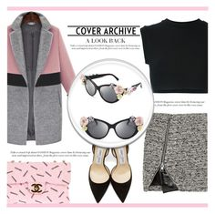 """""""Pack and Go: London"""" by irena123 ❤ liked on Polyvore featuring Bouchra Jarrar, Jimmy Choo, adidas Originals, Dolce&Gabbana, Chanel, women's clothing, women, female, woman and misses"""