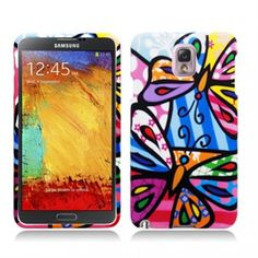 Find a must - have #Samsung #Galaxy #Note #3 #III #N9005 #N9000 #Hard #Case #Cover - Pizato Butterfly Texture at a huge discount price! Act now & save! Just $11.99!