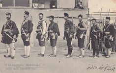 Makedonomaxoi - Macedonian Fighters to liberate Macedonia from foreign occupation. A struggle against the Turkish and Bulgarian occupiers and reunification with the rest of Greece Greek Soldier, Macedonia Greece, Greek Girl, Reunification, Greek History, Freedom Fighters, Oppression, Vintage Cards, Vintage Photography