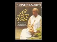 Krishnamurti - El Libro de la vida.(Audiolibro Completo)
