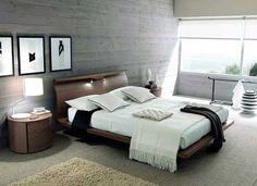 15 fantastiska sovrum inredda med betong - Sköna hem