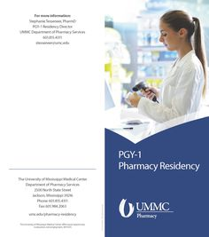 UMMC PGY-1 Pharmacy Residency Brochure (Nov. 2016) Page 1