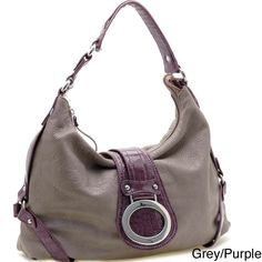 Dasein Front Flap Hobo Bag | Overstock.com  - $30