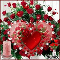 See the PicMix St Valentin belonging to on PicMix. Romantic Flowers, Red Flowers, Red Roses, Flowers Gif, Beautiful Love, Beautiful Flowers, Birthday Animated Gif, Bisous Gif, Happy Birthday Flower
