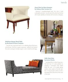 Donna's Blog Features High Point Market Trends in Texas Home & Living Magazine Donna Vining