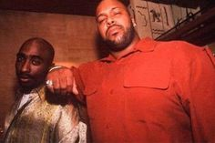 Tupac Shakur and Suge Knight