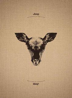 Okapi Head illusion or.