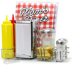 Kitchen Accessories Sets... yes! I love this for the eat in kitchen or island.__