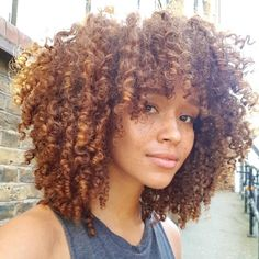 Grace Fantasy Hair - Fashion Ombre Blonde Synthetic Lace Front Wig Heat Resistant Hair Afro Kinky Curly Women Wigs You ar - Curly Bangs, Short Curly Hair, Curly Hair Styles, Natural Hair Styles, Natural Hair Bangs, Beyonce Curly Hair, Curly Hair Fringe, Updo Curly, Ombre Curly Hair