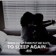 Wake me up, put me back to sleep
