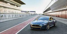 Aston Martin unveils the new V8 Vantage N430 special edition at Geneva Motor Show
