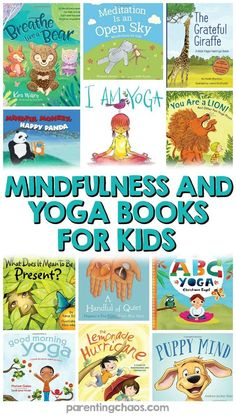 15 Mindfulness and Relaxation Apps for Kids with Anxiety - Yoga Stars - Mindfulness Books, Mindfulness For Kids, Mindfulness Activities, Calming Activities, Preschool Yoga, Preschool Books, Yoga For Kids, Exercise For Kids, Yoga Routine