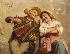 Italian artist..... Eugenio Zampighi (1859-1944)..............5