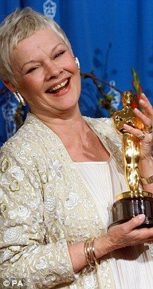 Dame Judi Dench: I can't bear to watch myself on screen | Mail Online
