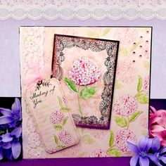 Lace in Bloom Page 1 | Hunkydory Crafts