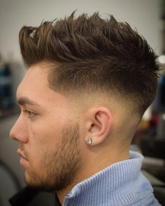 cool 70 Incredible Sexy Faux Hawk Fade Haircuts - New in 2017