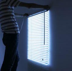 fake window aka light up blinds :)