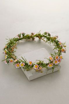 Posy Floral Crown - anthropologie.com