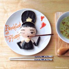 ¡Desayuno con diamantes (Audrey Hepburn)!