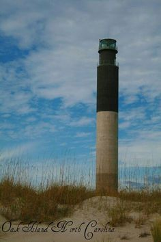 Lighthouse at Oak Island NC