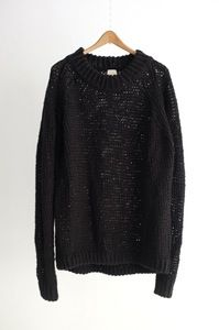 Image of KNIT#21-BLACK HEMP by Jan-Jan Van Essche