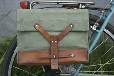 Swiss Army Bicycle Bike Pannier Bag
